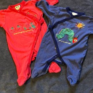 Hungry Caterpillar Pajamas